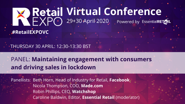#RetailEXPOVC: Maintaining engagement with consumers & driving sales in lockdown