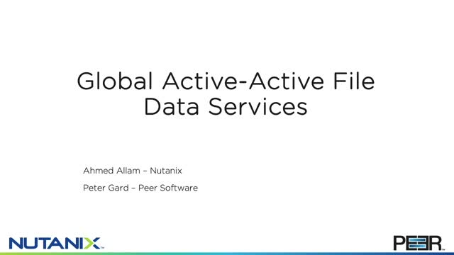 Global Active - Active File Data Services