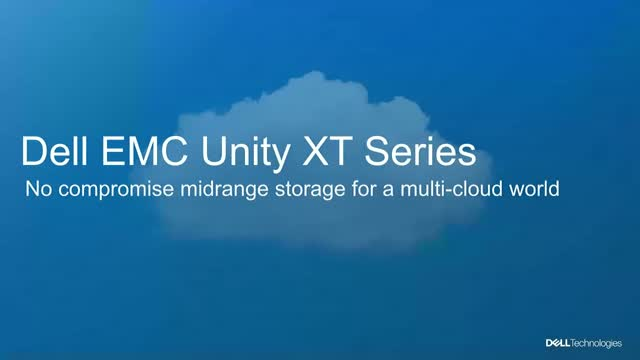 Dell EMC Unity XT Journeys Off Premises and into the Cloud of Your Choice