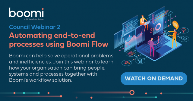 Local Council Webinar 2: Automate end-to-end process using Boomi Flow