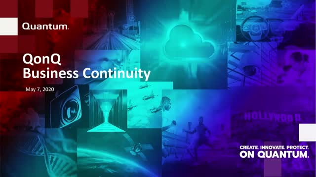 QonQ: Data Continuity is Business Continuity