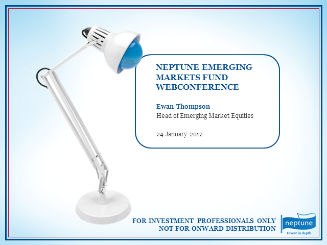 Neptune Emerging Markets Fund Update