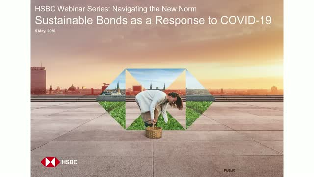 HSBC Presents: Sustainable Bonds as a Response to COVID-19
