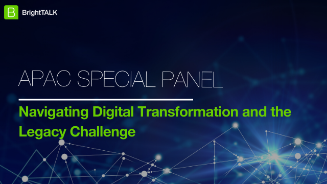 Navigating Digital Transformation and the Legacy Challenge