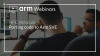 Porting code to Arm SVE – HPC Webinar