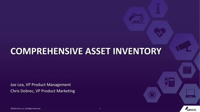 Comprehensive Asset Inventory