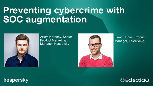 Preventing cybercrime with SOC augmentation