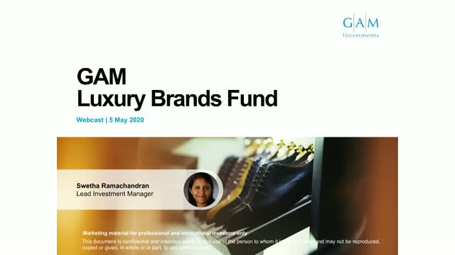 Luxury maintains its attraction - GAM Luxury Brands Equity update