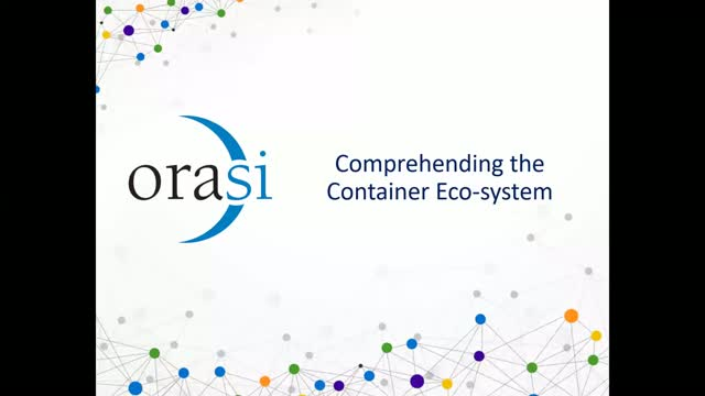 Comprehending the Container Eco-System