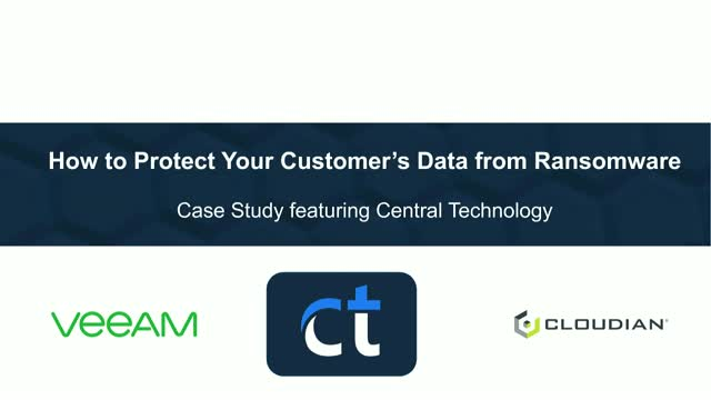 How to Protect Your Customers' Data from Ransomware