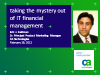 Taking the Mystery out of IT Financial Management