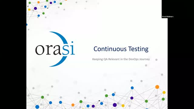 Continuous Testing: Keeping QA Relevant in the DevOps Journey