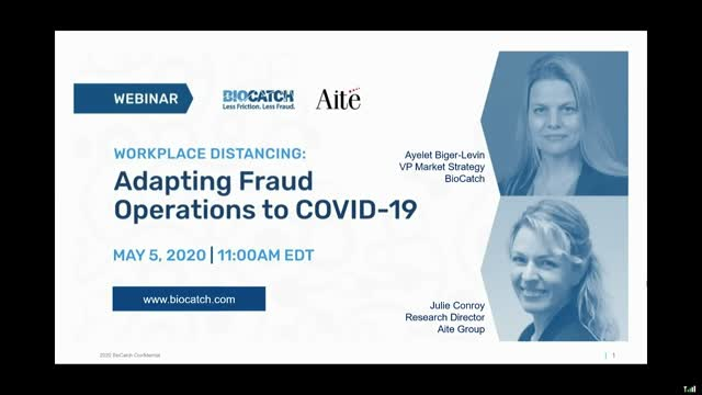 Workplace Distancing: Adapting Fraud Operations to COVID-19