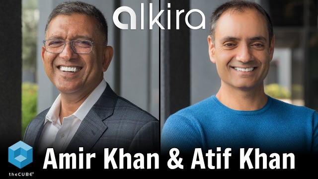 TheCUBE Interview with the Founders of Alkira