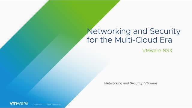 Networking and Security for the Multi-Cloud Era