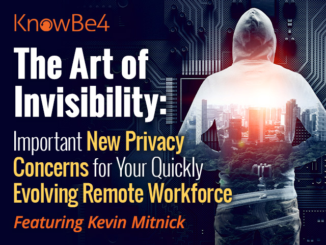 The Art of Invisibility featuring Kevin Mitnick and Perry Carptenter