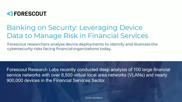 Banking on Security: Malware and the Financial Sector