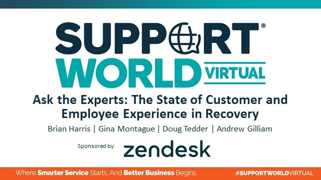 Ask the Experts: The State of Customer and Employee Experience in Recovery