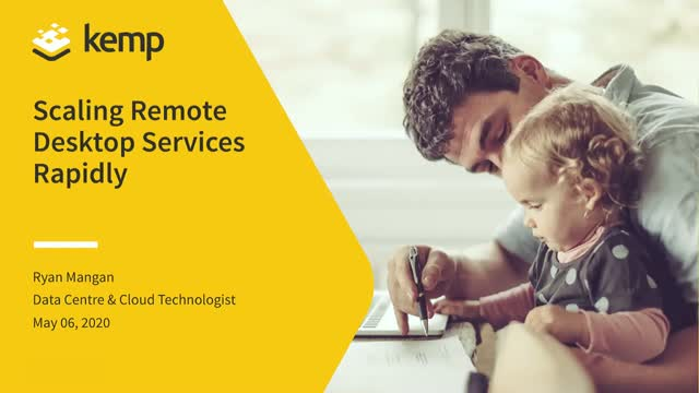 Scaling Remote Desktop Services Rapidly