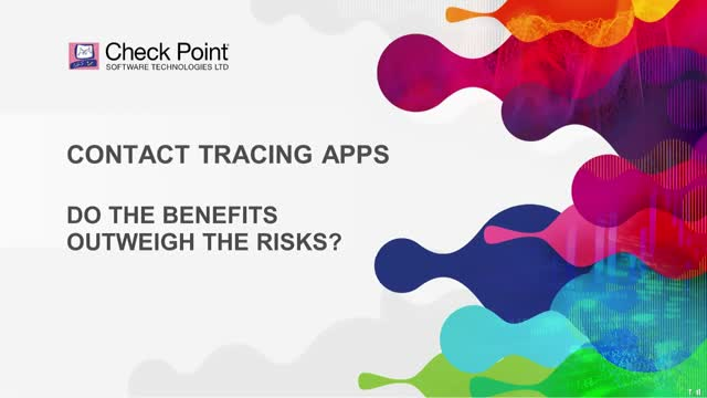 Contact tracing apps - do the benefits outweigh the risks?