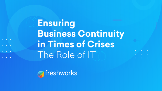 Ensuring Business Continuity In Times Of Crisis