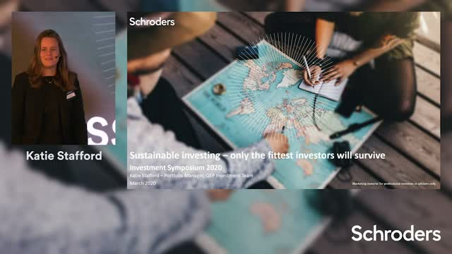Sustainable investing - only the fittest investors will survive