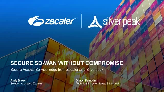 Secure SD-WAN without compromise