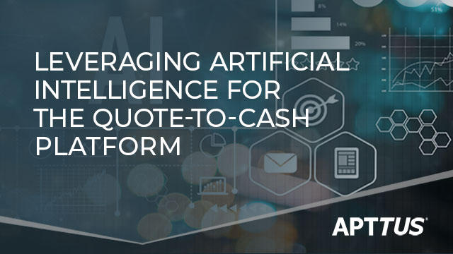 Leveraging Artificial Intelligence for the Quote-to-Cash platform