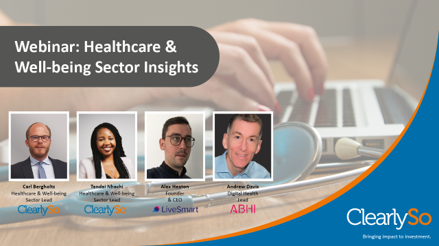 ClearlySo Healthcare & Well-being Sector Insights
