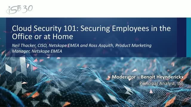 Cloud Security 101: Securing Employees in the Office or at Home