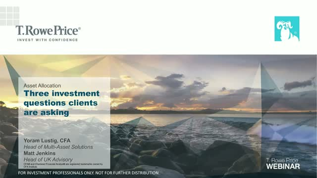 Asset Allocation Outlook – Clients' Questions Answered