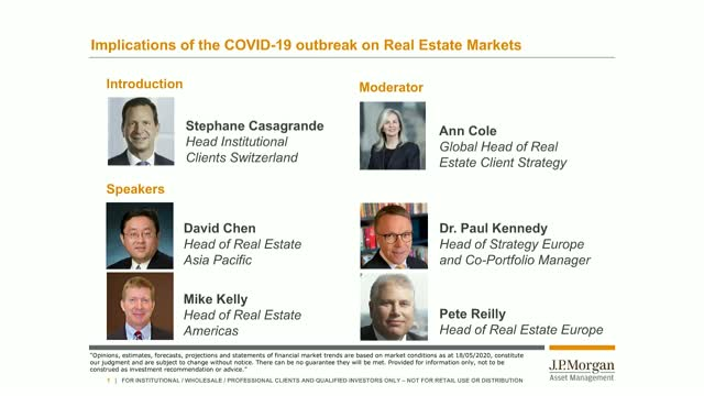 Implications of the COVID-19 outbreak on Real Estate Markets