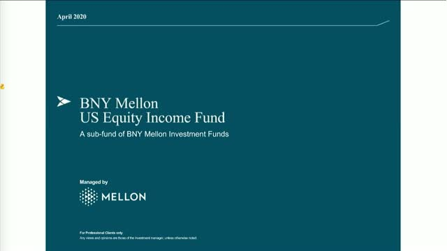 BNY Mellon US Equity Income Fund update