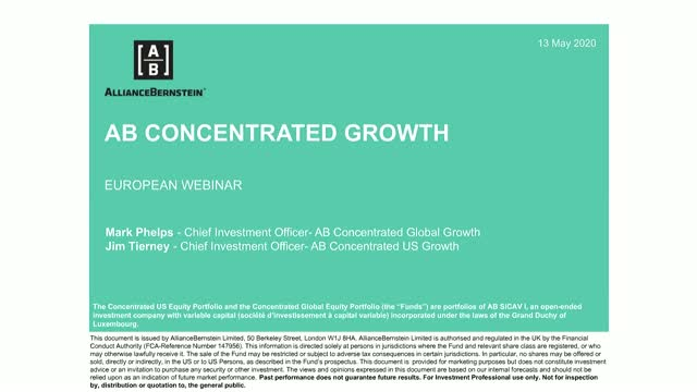 W.P. Stewart/AB Concentrated Growth Equity Investment Seminar