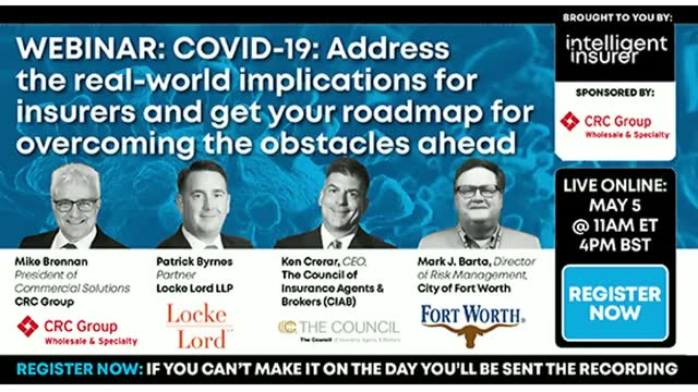 COVID-19: Address the real-world implications for insurers