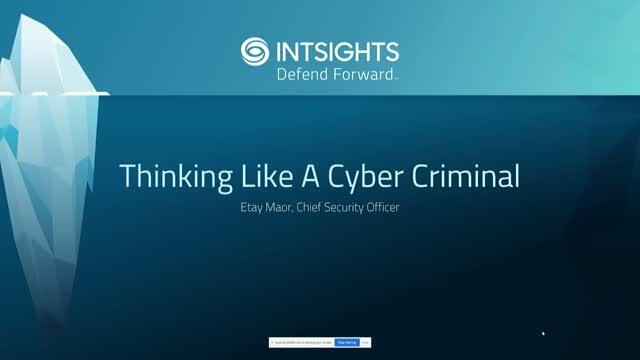Thinking Like a Cybercriminal