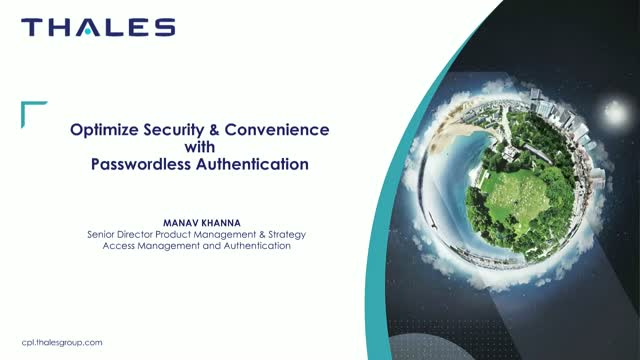 Optimize Security and Convenience with Passwordless Authentication
