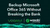 Backup Microsoft Office 365 without Breaking the Bank