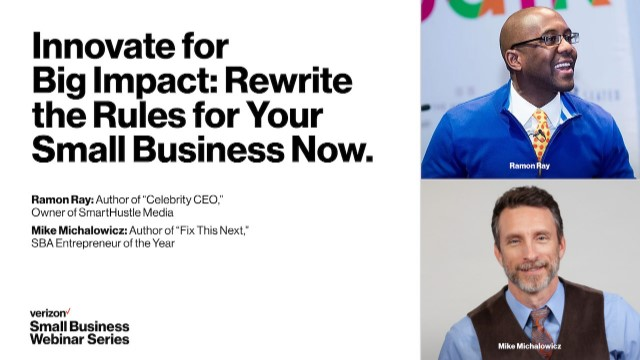 Innovate for Big Impact:  Rewrite the Rules for Your Small Business Now