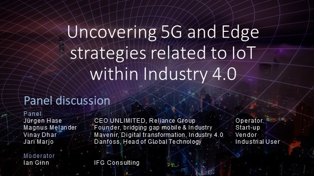 Uncover strategies related to IoT at the Edge for Industry 4.0 and role of 5G
