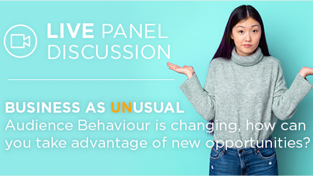 LIVE Virtual Panel Discussion: Business as (Un)Usual