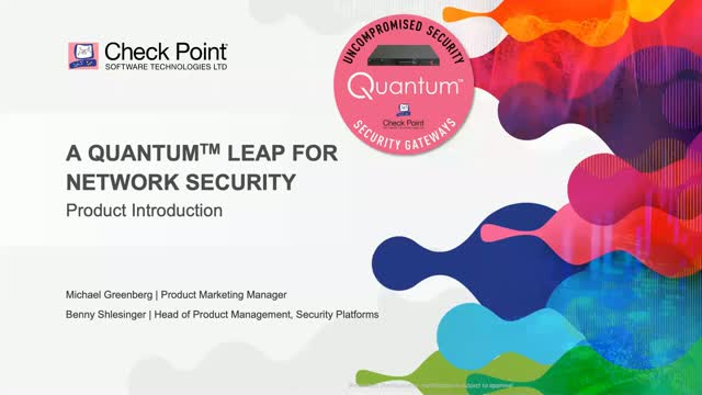A Quantum Leap for Network Security