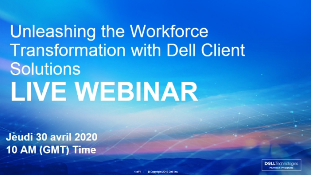 Unleashing the Workforce Transformation with Dell Client Solutions
