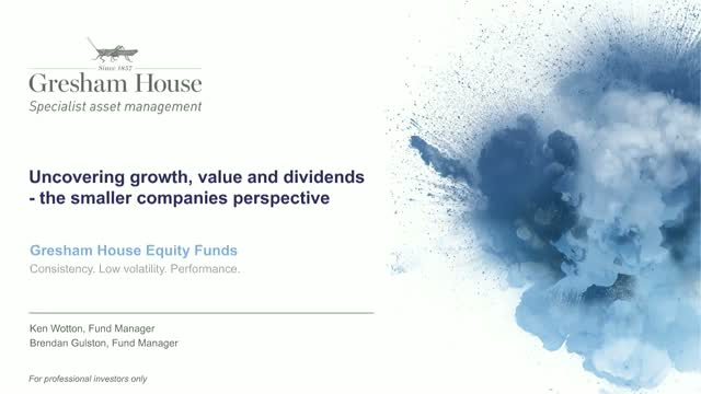 Uncovering growth, value and dividends - the smaller companies perspective