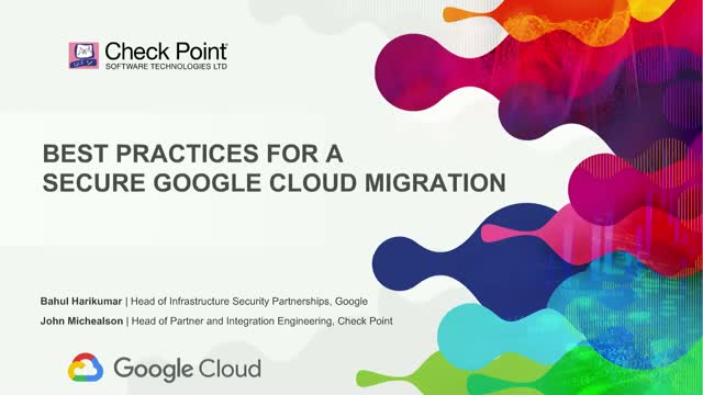 Best Practices for a Secure Google Cloud Design