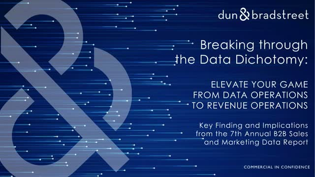 7th Annual B2B Sales and Marketing Data Report