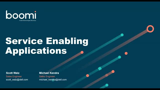 Service Enabling Your Applications