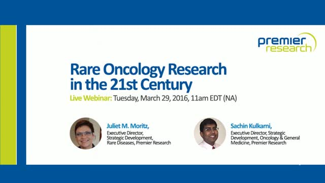 Rare Oncology Research in the 21st Century