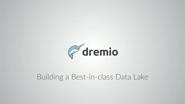 Build a Best In Class  Data Lake