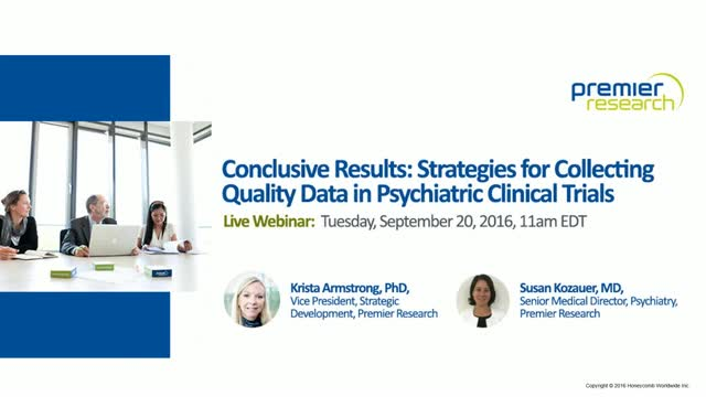 Conclusive Results: Strategies for Collecting Quality Data in Psychiatric Clinic